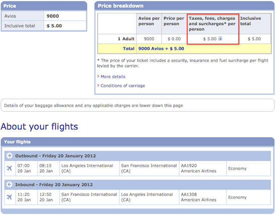 How to redeem British Airways Avios points (reader ...