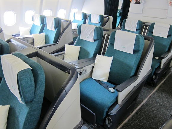 Lucky Charms Ireland Aer Lingus Business Class Boston To