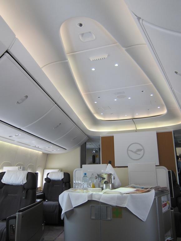 Just Got Off My First Lufthansa 747 8 Flight Wow One