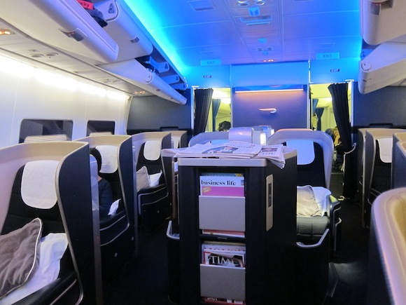 Bling It On British Airways First Class Seattle To London