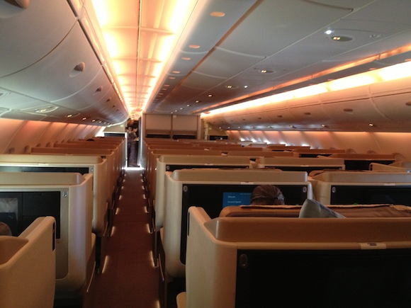 the best business class seats for couples traveling together