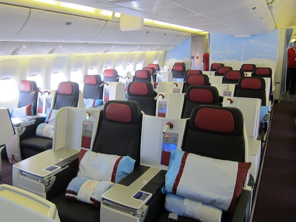 Austrian Airlines Onboard Chef Video - One Mile at a Time