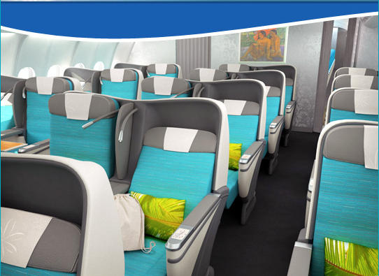 Air Tahiti Nui Announces New Angled Flat Business Class Yay One Mile At A Time