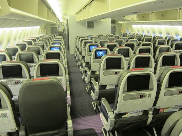 American Airlines Reconfigured 777 200 Seatmap With New