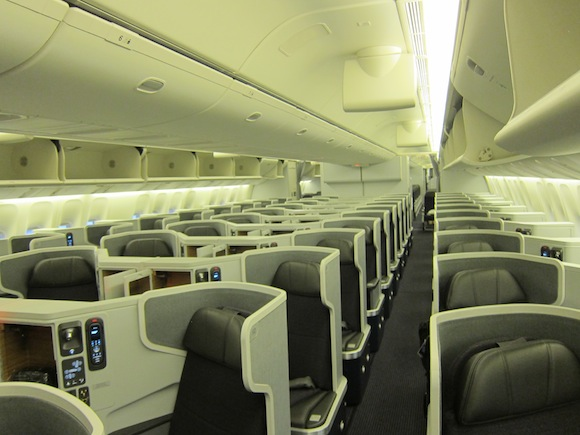 Comparing Transatlantic Business Class Seats One Mile At