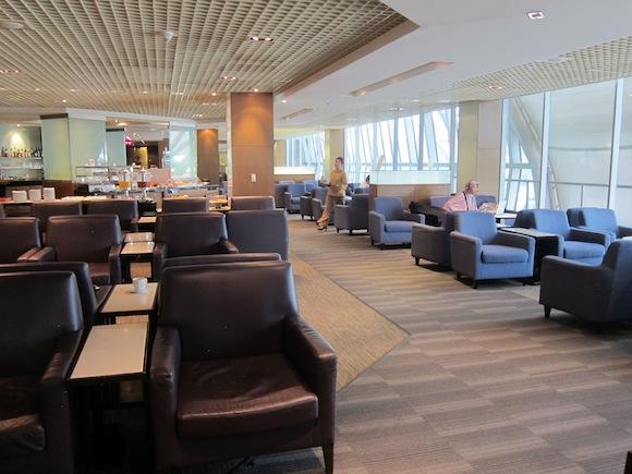 Thai Airways Business Class Royal Silk Lounge12