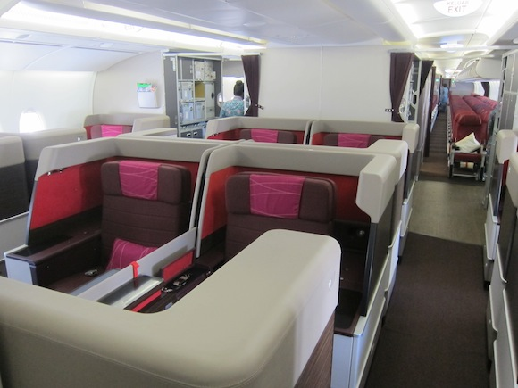 Malaysia Airlines A380 First Class