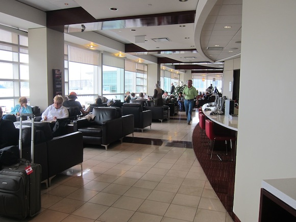 Review Air Canada Maple Leaf Lounge Vancouver One Mile