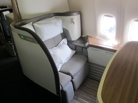 Cathay Pacific S New Refreshed First Class 777 300er One