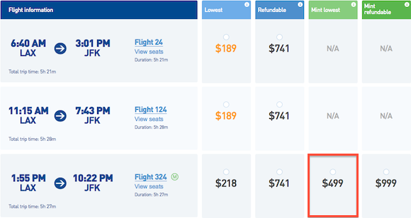 JetBlue_Mint_Pricing2