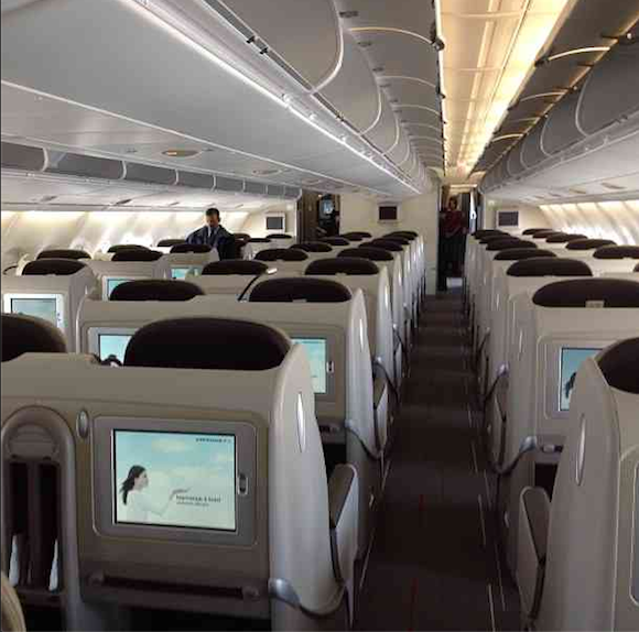 Air france a380 flying to san francisco starting march 30 for A380 air france interieur