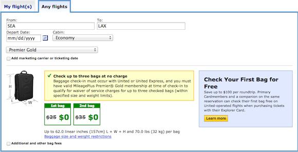 United Baggage Allowance2