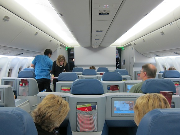 Review Delta Businesselite Sao Paulo To Detroit One