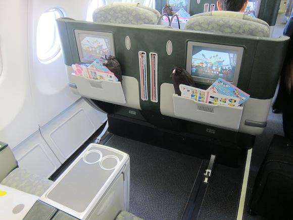 Review Eva Air Hello Kitty Business Class Tokyo To Taipei