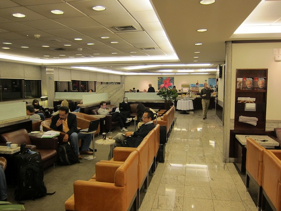 Review American Airlines Admirals Club Sao Paulo One