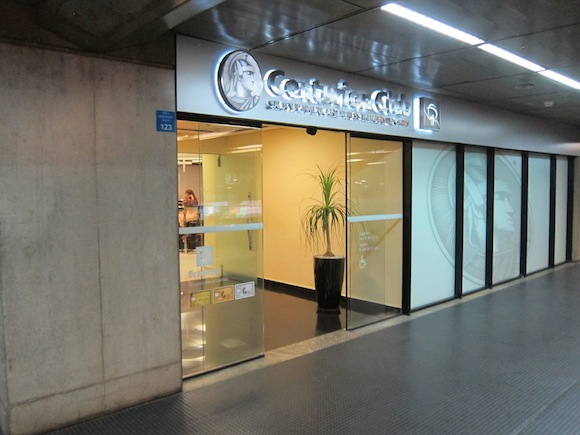 Review American Express Centurion Lounge Sao Paulo One