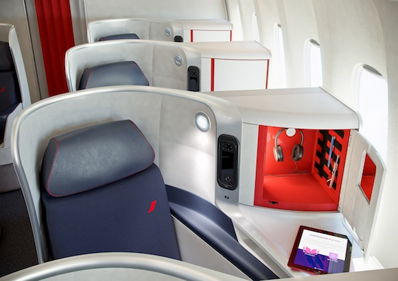 air france unveils new business class product one mile. Black Bedroom Furniture Sets. Home Design Ideas
