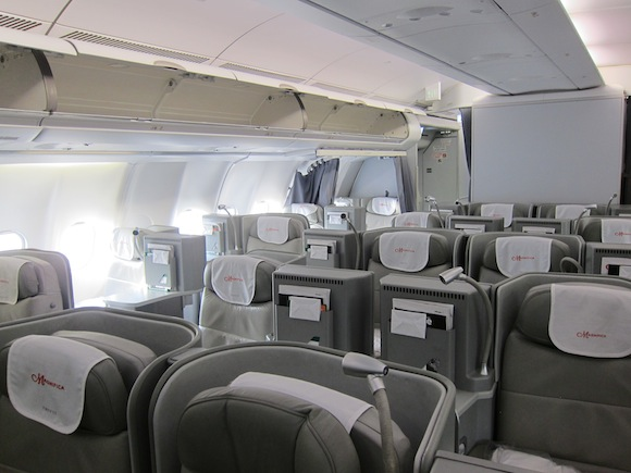 Airberlin Fully Flat Business Class Installation Complete
