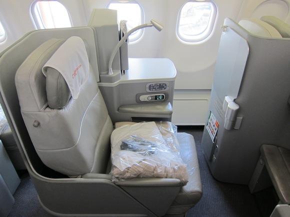 Seat 3C business class