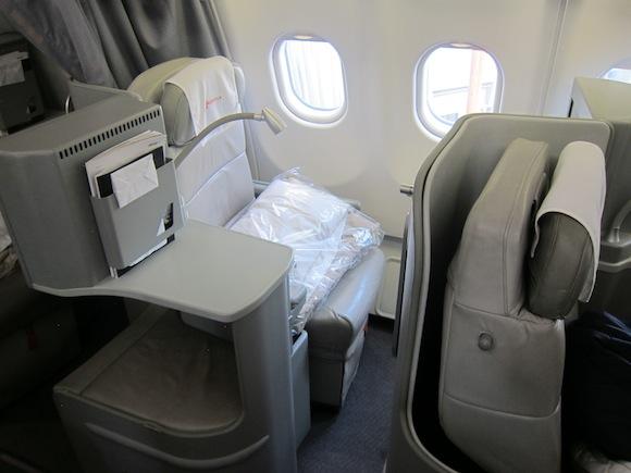 Seat 4A business class