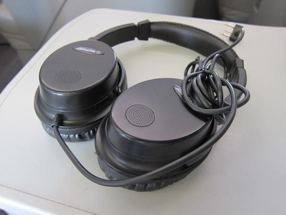 Alitalia headphones