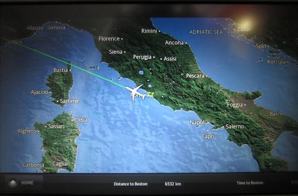 Alitalia A330 airshow