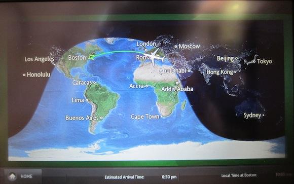 Airshow screen