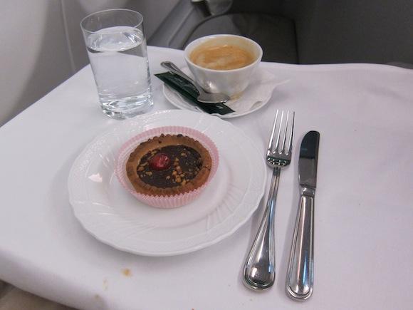 Duchess of Parma cake and coffee dessert
