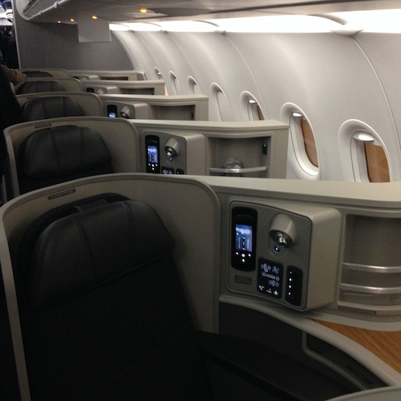 American A321t First Class New York To Los Angeles One
