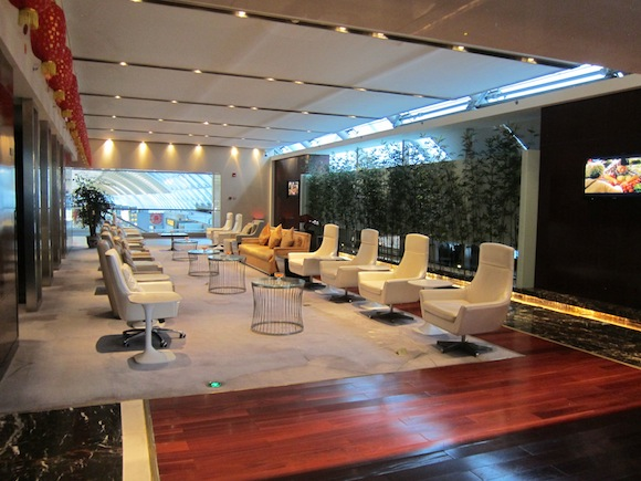 Review China Southern Lounge Guangzhou Airport One Mile