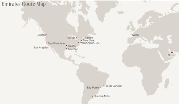 Emirates-Destinations