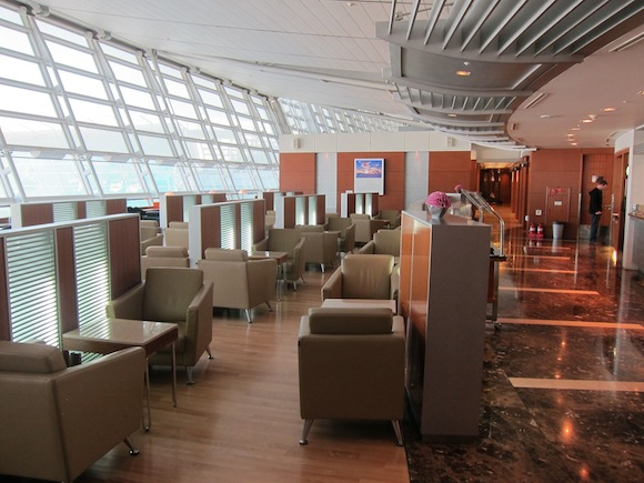 Review Korean Air First Class Lounge Seoul Incheon One