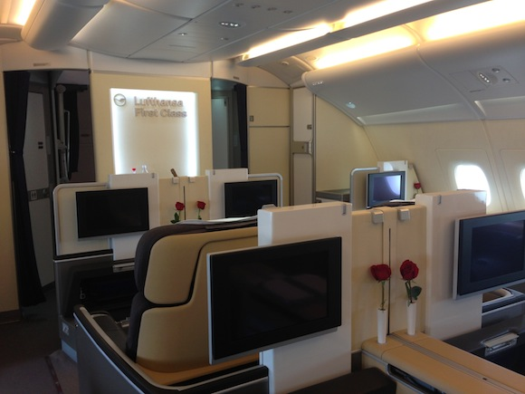 lufthansa a380 new business class retrofit status one mile at a time. Black Bedroom Furniture Sets. Home Design Ideas