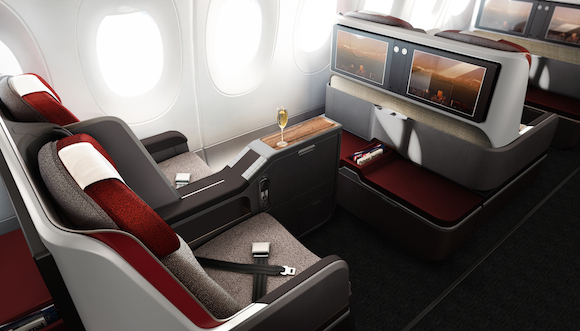 Lan and tam latam reveal boeing 787 9 and airbus a350 for Interior 787 avianca
