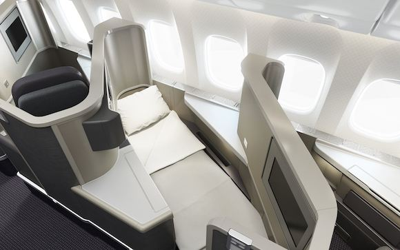 American 777 200 New Business Class Revealed One Mile At