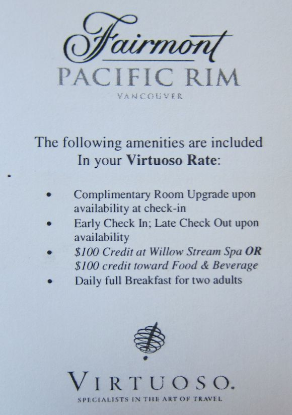 Review: Fairmont Pacific Rim Vancouver | One Mile at a Time