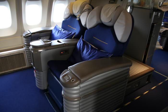 Lufthansa Old First Class