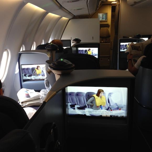 Airberlin Business Class 12