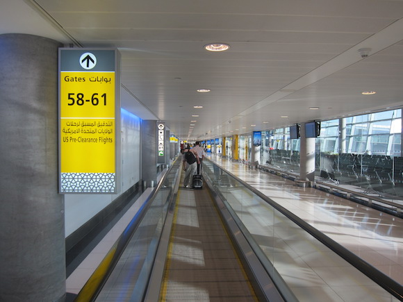 Abu Dhabi Airport United States Immigration Pre Clearance