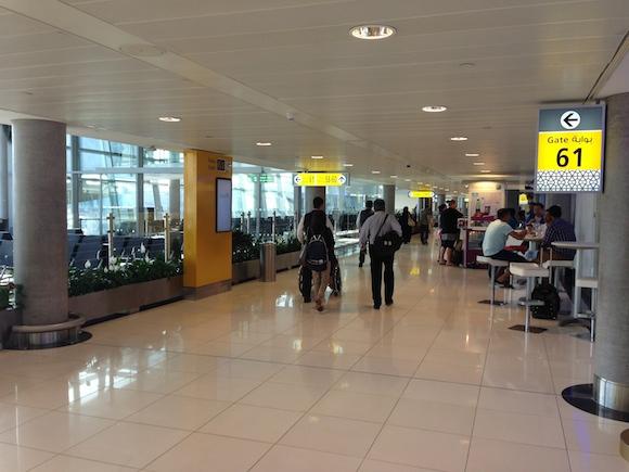 Abu Dhabi Airport US departure gates
