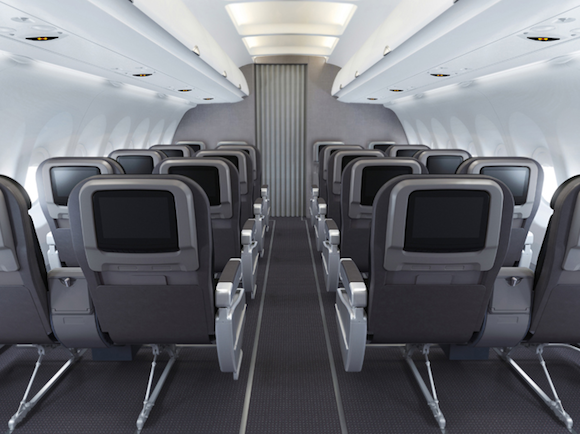 First American A321 Two Class Routes And Cabins One Mile