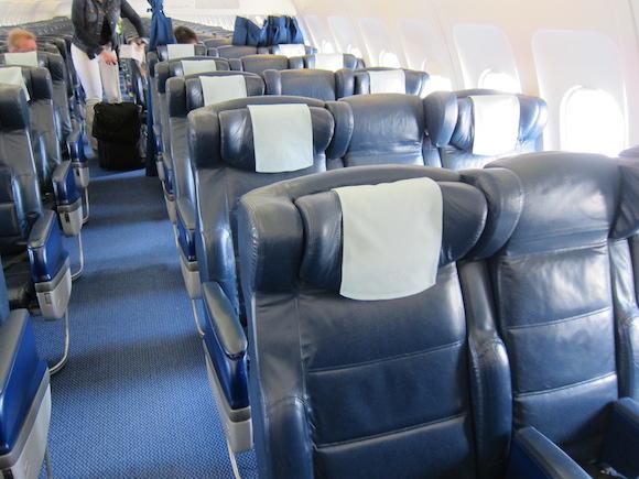 New British Airways Club Europe Slimline Seats One Mile