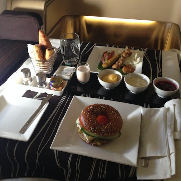 Etihad Airways A340 First Class Abu Dhabi To Los Angeles ...