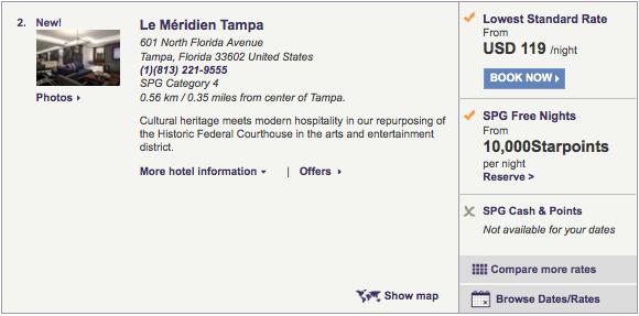 Le-Meridien-Tampa-Rate