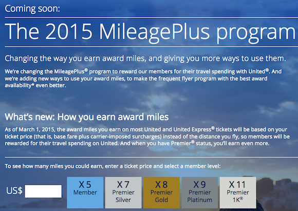 United mileageplus program revenue based program details one mile