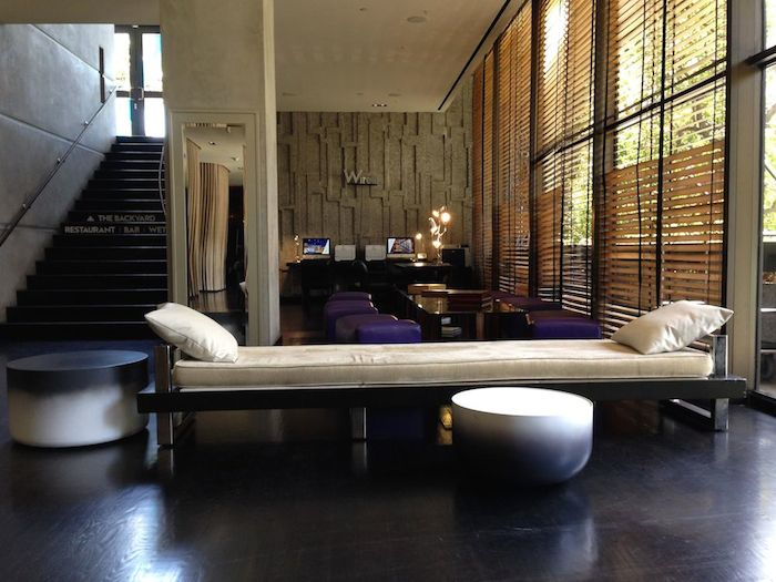 Review W Hotel Los Angeles Westwood One Mile At A Time