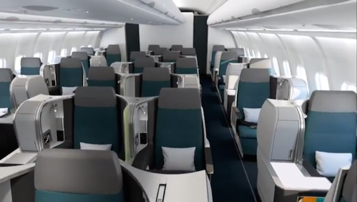 Aer Lingus New Business Class A330 Unveiled One Mile At