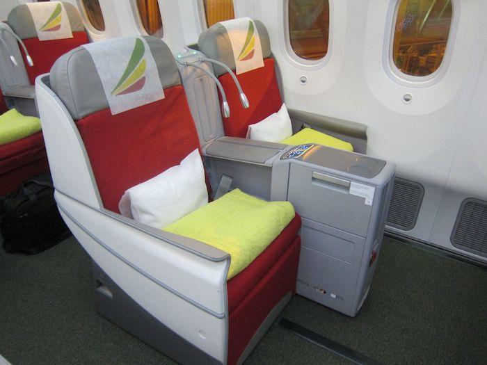 Ethiopian 787 Business Class Cloud Nine Beijing To Addis