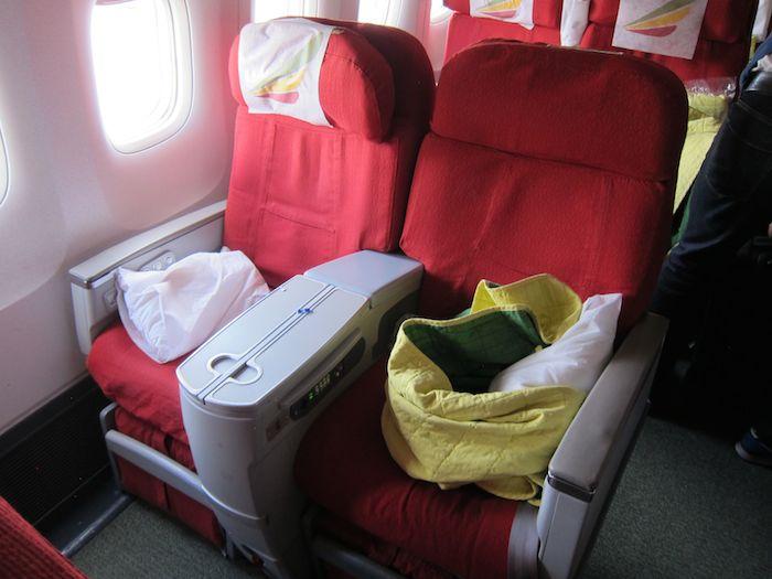 Ethiopian Business Class 767 05