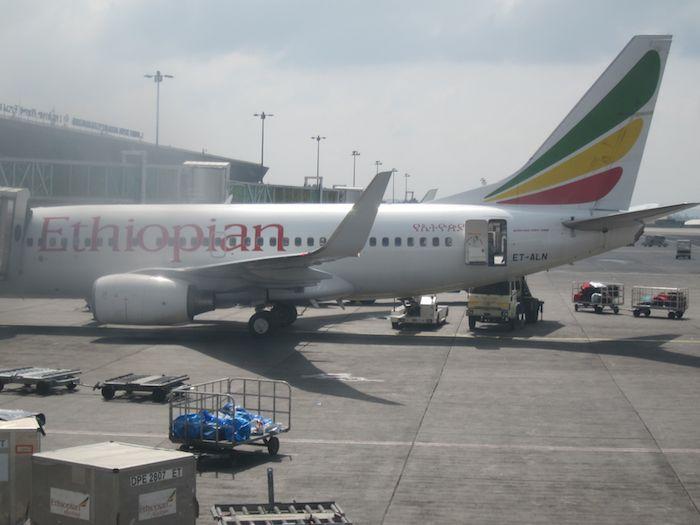Ethiopian Business Class 767 17